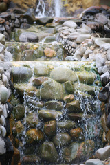 stone and waterfall2