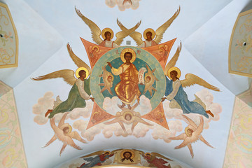 Church painting, Trinity lavra, Sergiyev Posad