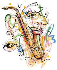 Music Art Sketch