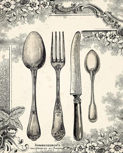 Menu 1900 © lynea