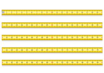 measuring tape for tool roulette vector illustration EPS 10