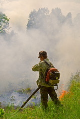 Suppression of forest fire 78
