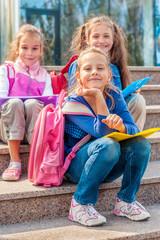 School aged girls