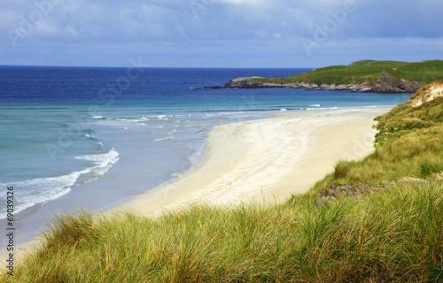 canvas print picture Strand in Schottland