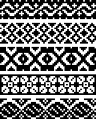 Simple pixel patterns
