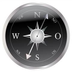 Kompass - Silber