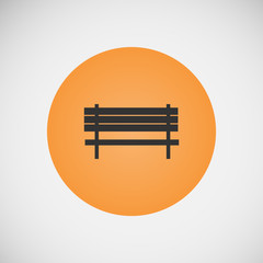Vector vintage benches for parks and streets