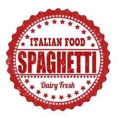 Spaghetti stamp