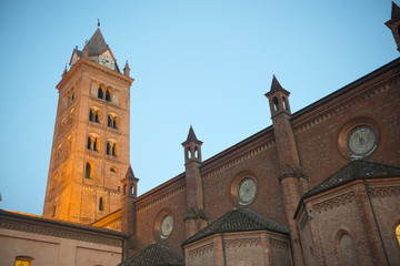 Cathedral of Alba at evening
