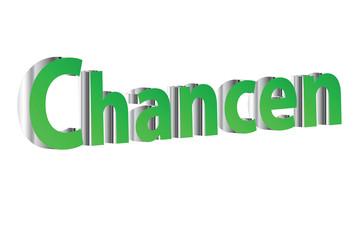 Schrifzug 3D - Chancen