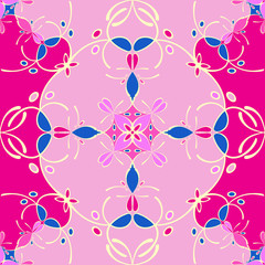 Abstract seamless pattern - background