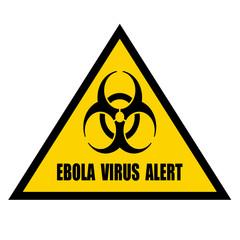 Ebola warning sign