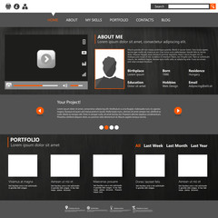 Personal portfolio Design / Website Template