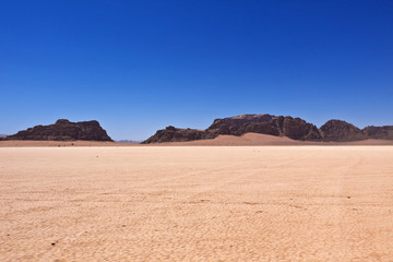The Desert Wadi Rum of Jordan