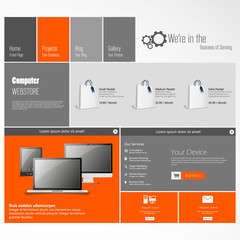 Technology business Modern template Design