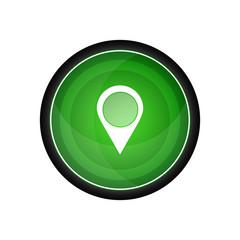Place vector icon, button