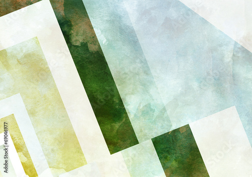Colorful Retro Paper Background with grunge effects. © LoveKay