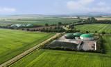 Moderne landwirtschaftliche Biogasanlagen - 69047194