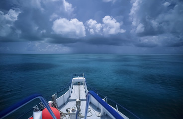 Caribbean Sea, Belize, view of the coral reef
