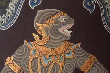 paintings at Wat Phra Kaew
