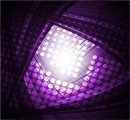 Dark purple abstract technology background