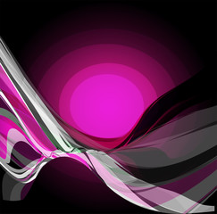 Dark purple violet swirl background burst