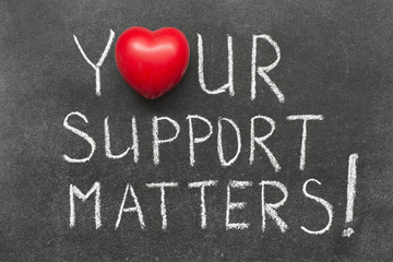 support matters