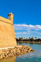 Muralla y torre