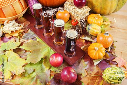 canvas print picture Seasonal Craft Beers