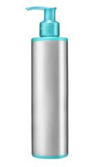 plastic bottle of gel, liquid soap, lotion, cream, shampoo