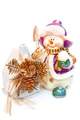 Some Snowmans in Christmas Home Decoration