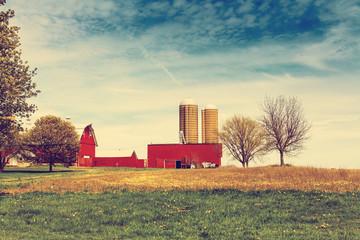Autumn on American Farm