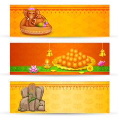 Banner for Ganesh Chaturthi