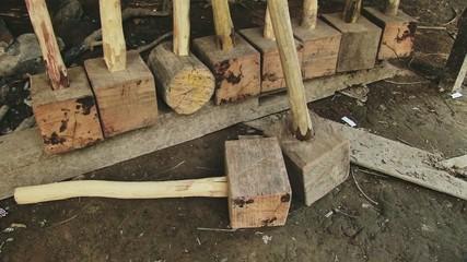 Wooden mallet homemade (2)