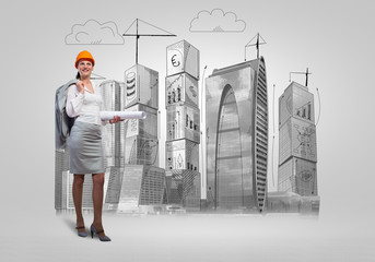 Woman architect