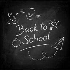 Back to School - Blackboard