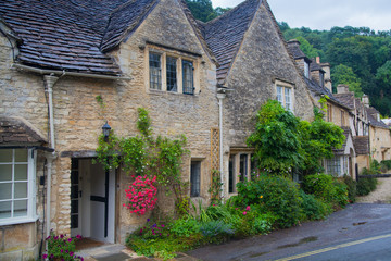 Castle Combe, unique old English village and luxury golf club