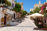 Tourists have a rest in Rethymno city. Crete island, Greece. - 69056763