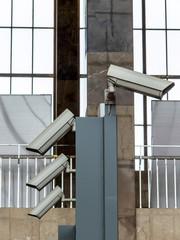 Kameras einer Videoüberwachung