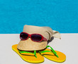 canvas print picture - Symbolfoto Erholung im Urlaub