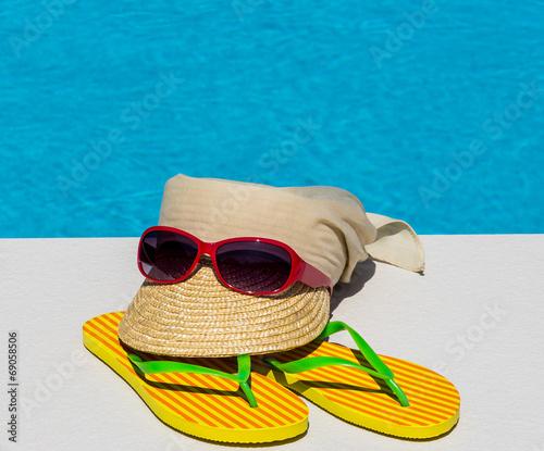 canvas print picture Symbolfoto Erholung im Urlaub