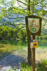 Schild, Naturschutzgebiet, Österreich