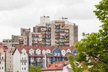 Blick nach Zgorzelec Polen
