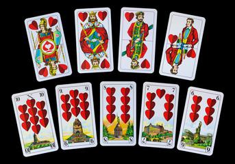 Spielkarten - Reise mit Herz zu Deutschlands Denkmäler
