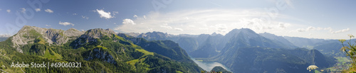 canvas print picture panorama_koenigssee_jenner