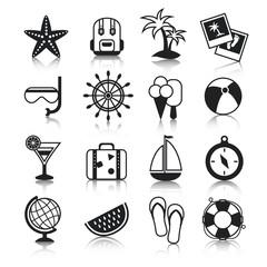 Holyday icons set