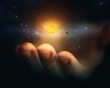 Leinwandbild Motiv Minature universe