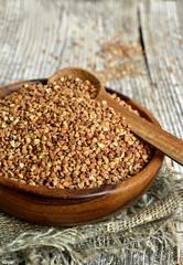 Raw buckwheat.