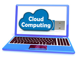Cloud Computing Memory Means Computer Networks And Servers