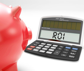 ROI Calculator Shows Investment Return Or Profitability